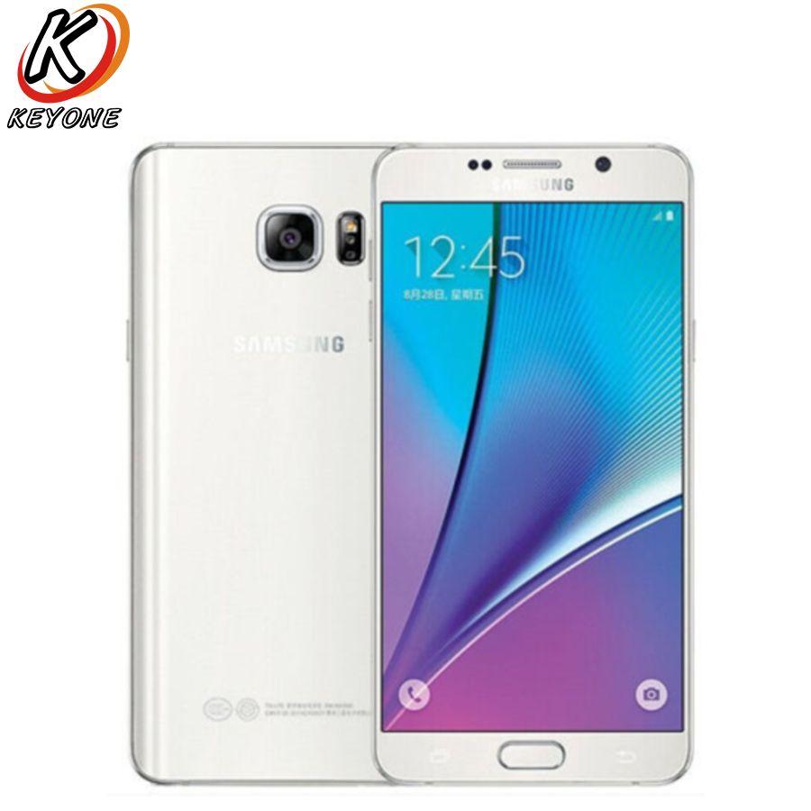 Original New Samsung Galaxy note5 note 5 N9200 4G LTE Mobile Phone 5.7 4GB RAM 32GB ROM Octa Core 16MP Camera  Smart Phone