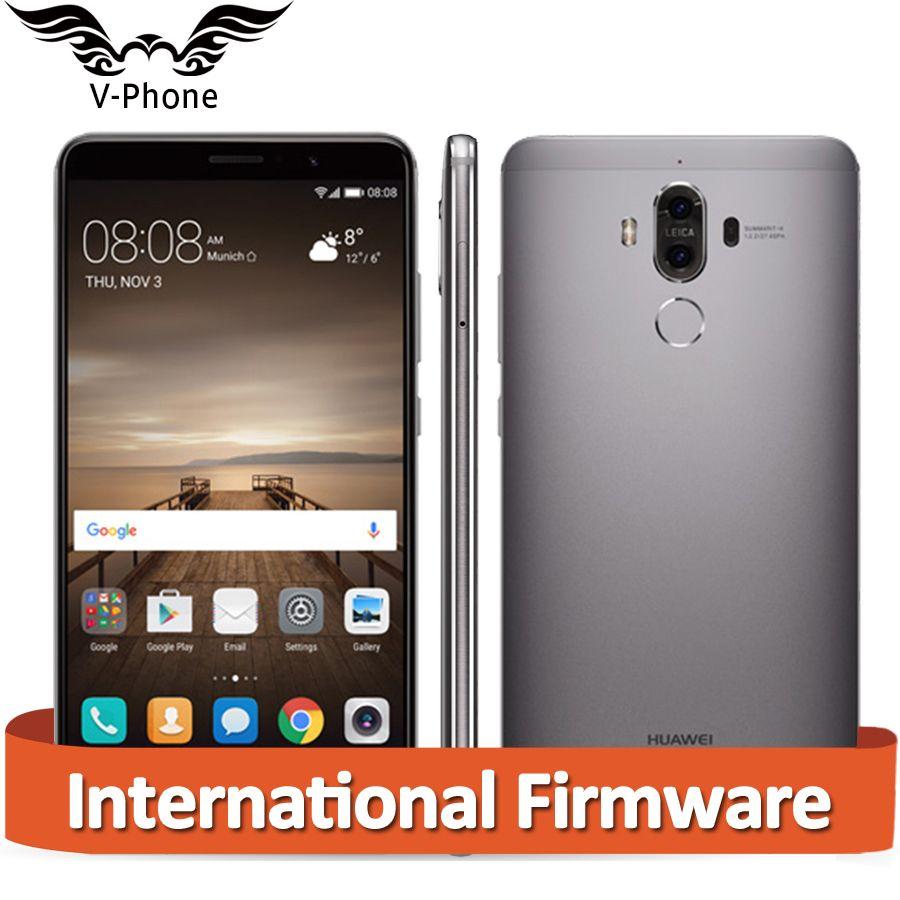 Глобальный Huawei Коврики 9 Коврики 9 4 г LTE Восьмиядерный 6 ГБ Оперативная память 128 ГБ Встроенная память 5.9