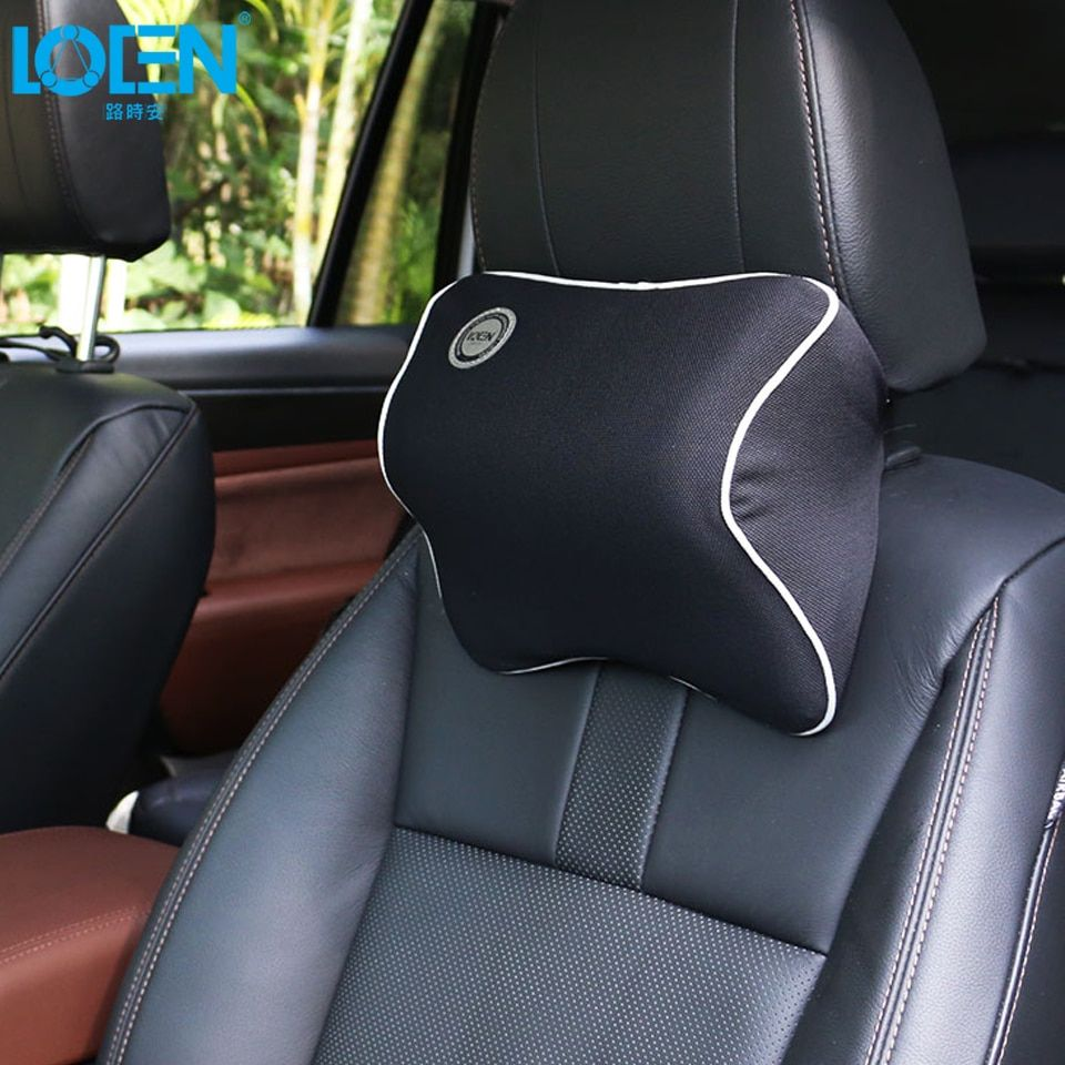 Car Headrest <font><b>Seat</b></font> Head Neck Rest Massage Memory Foam Cushion Support for 95% Cars Office Chair Quality Decoration Neck Pillow