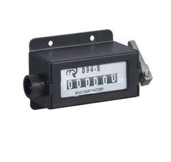 D94-S Casing 6 Digits Mechanical Pull Stroke Counter Black Color