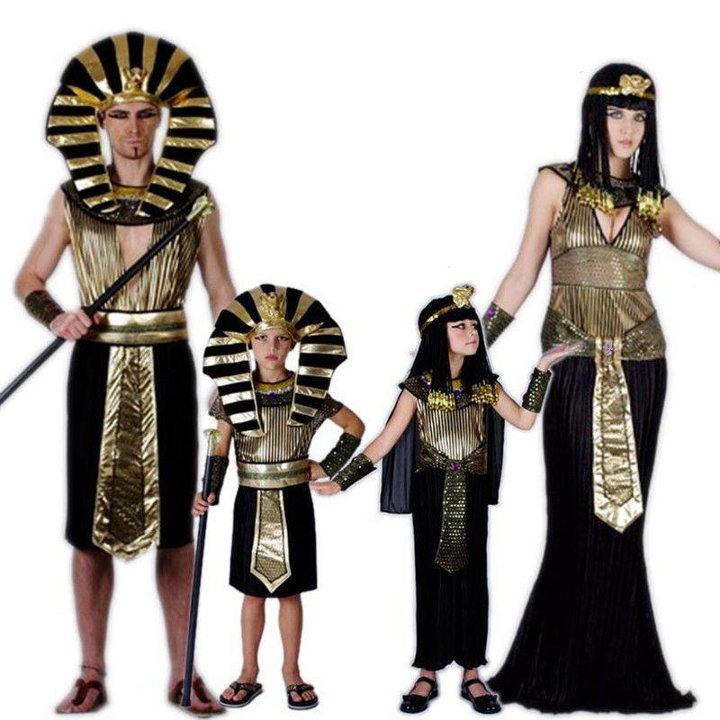 24 heures navire or egypte pharaon Costumes pour Halloween fête adultes vêtements égyptien roi hommes Prince pourim déguisement
