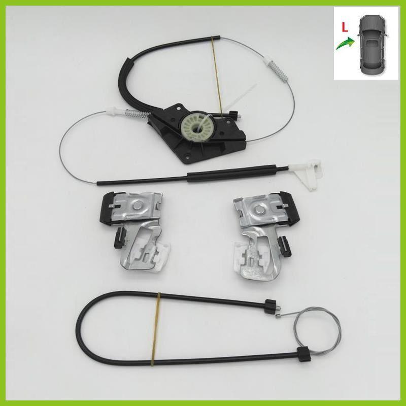 For Skoda Octavia A4 MK1 1997 1998 1999 2000 2001 2002 2003 2004 2005 2006 2007-2011 Window Regulator Repair Kit Front Left Side