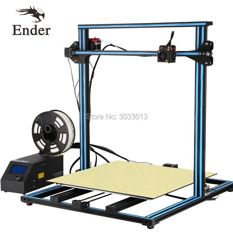 CR-10S 4S 5S/CR-10Mini CR-10 3D Printer DIY Kit option Large size Dual Z Rod Filament Sensor/Detect Resume Power Off Creality 3D