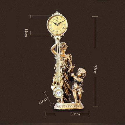 Kreative Dekorative Wohnzimmer Antike Uhr Dekoration Klassische Handwerk Uhren Mode Kreativen Desktop Clock Dekorationen