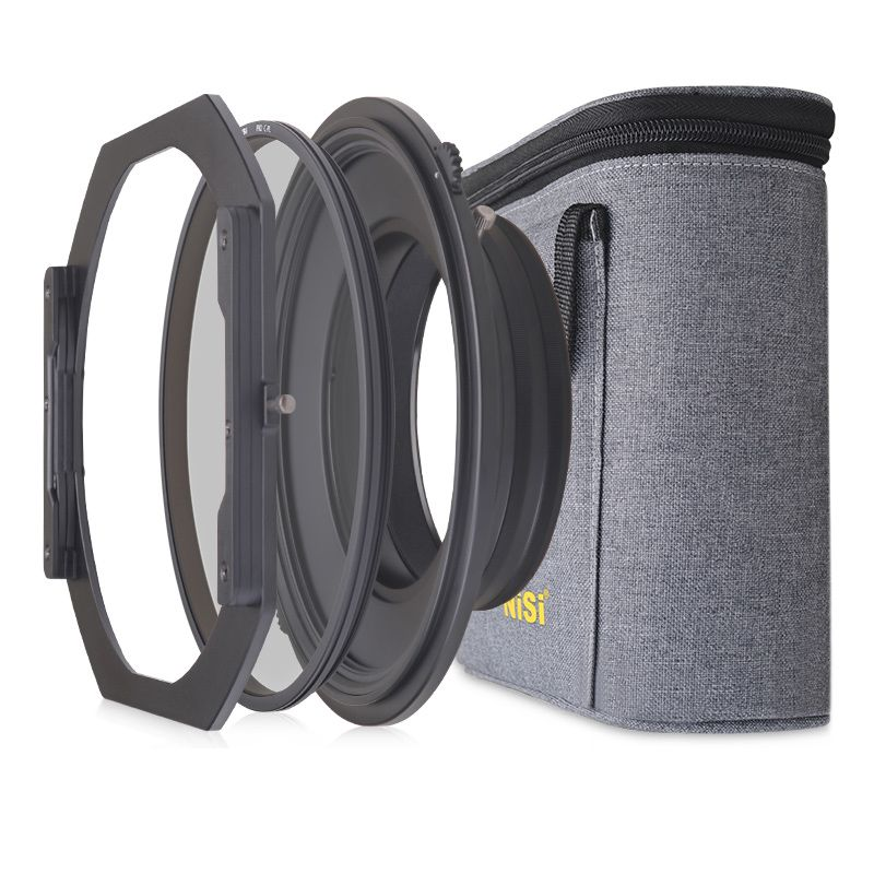 NiSi S5 Kit 150mm Filter Holder System Bracket with Circular Polarizer for Nikon 14-24mm Lens for Tamron 15-30mm for Sony 12-24