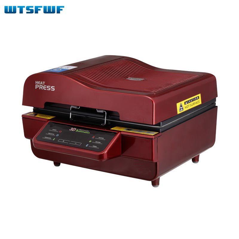 Wtsfwf Cheap ST-3042 3D Sublimation Heat Press Printer 3D Vacuum Heat Press Machine for Cases Mugs Plates Glasses