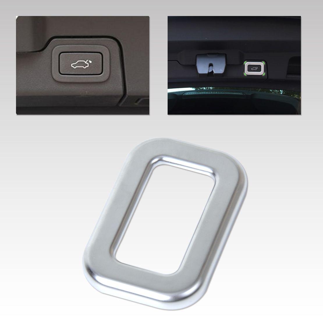 Beler New Car Styling Chrome Rear Door Trunk Schalter Taste Rahmenabdeckung Trim für Range Rover L405 Sport L494 EVOQUE 2014-2015