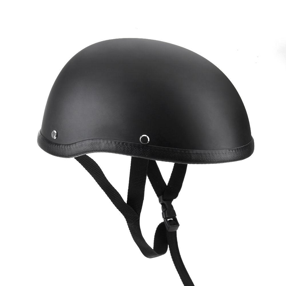 CARCHET casque moto demi casque 54-60 cm unisexe Protection casque Capacete demi coque casque mat rétro Racer Motocross