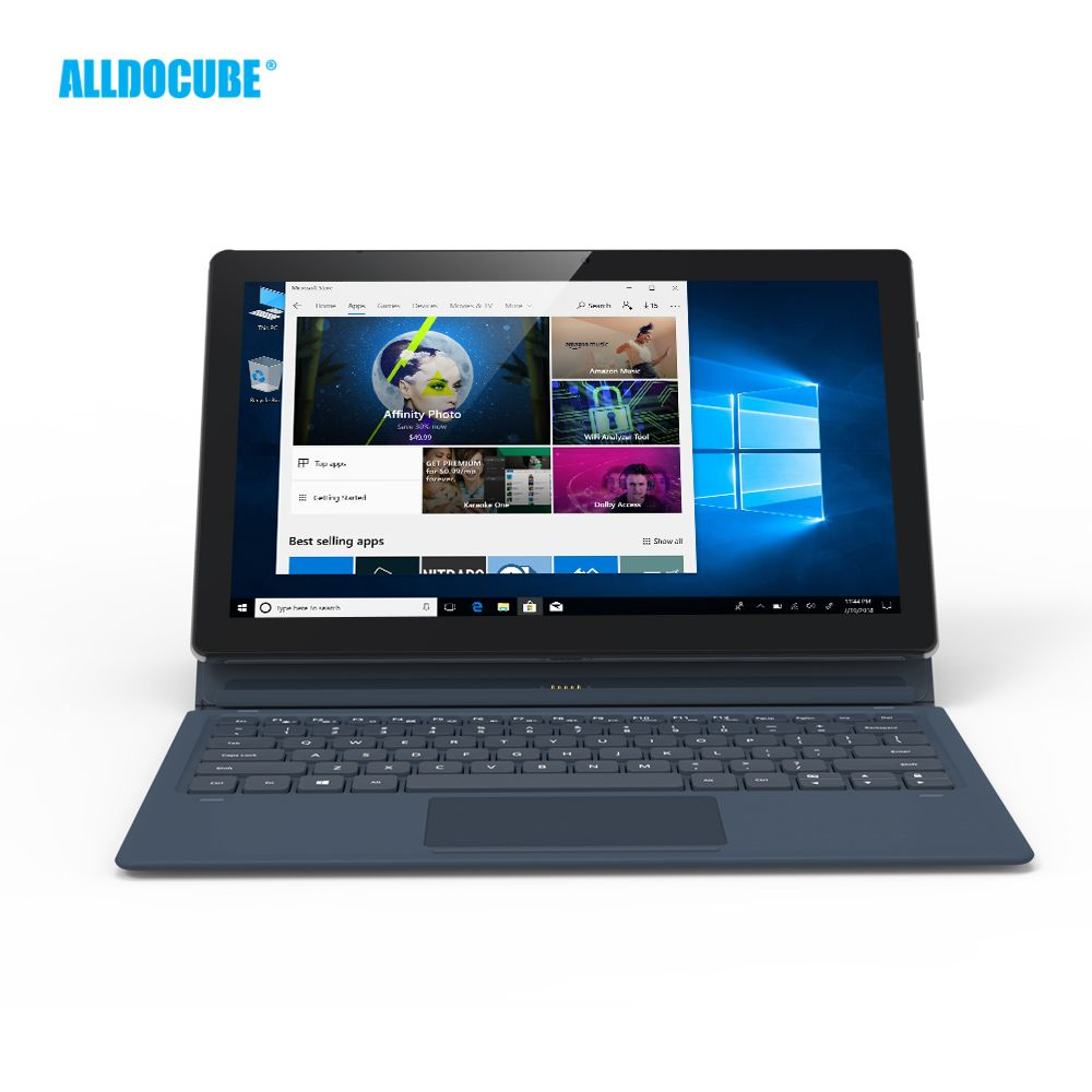 ALLDOCUBE KNote5 11.6 inch FHD 1920*1080 IPS windows10 Intel Gemini Lake N4100 Quad Core Tablet PC 4GB RAM 128GB ROM Dual WiFi