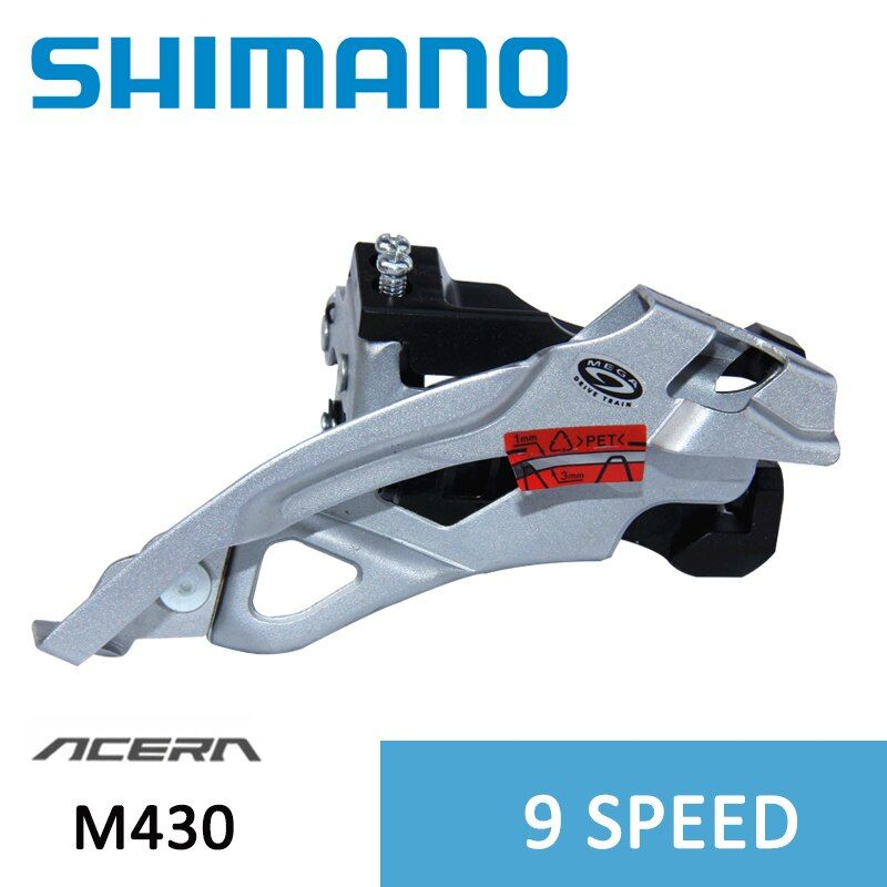 SHIMANO ALIVIO FD-M430 Front derailleur 3*9s 27S MTB bicycle bike clamp derailleurs MTB Clamp-On Dual Pull Caliber 34.9/31.8mm