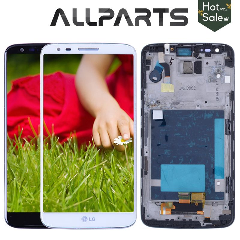 Original 5.2 '' LCD for LG G2 D802 Display Touch Screen Digitizer Assembly Display for LG G2 D802 LCD D800 D801 D805 D803