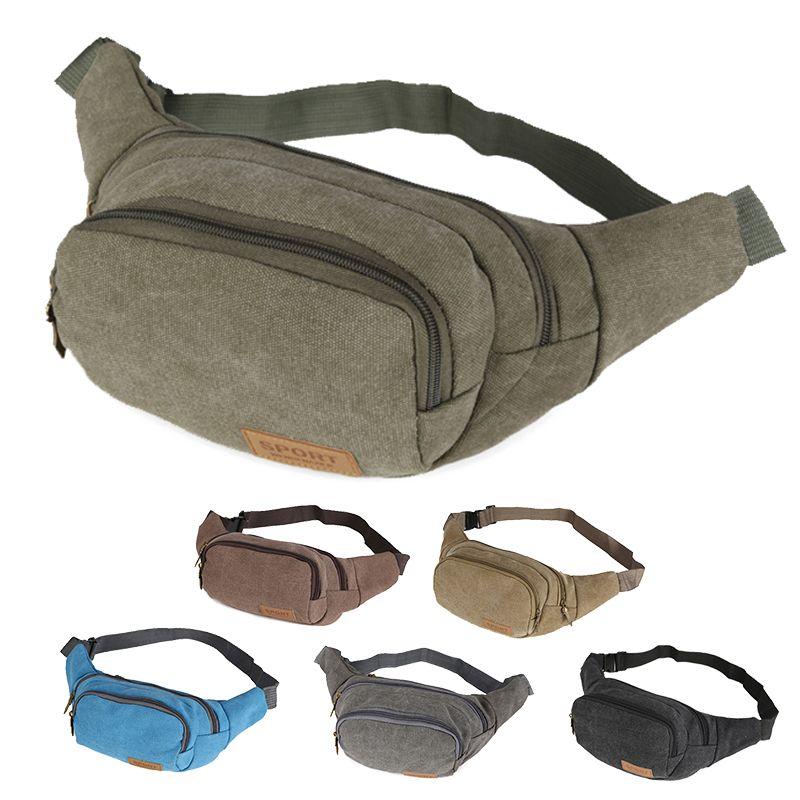 Outdoor Men Male Multifunctional Fanny Waist Bag Boy Sport Running Waistband Money Phone Belt Bag Travel Waist Packs