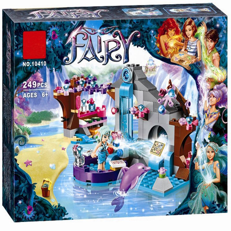 BELA 10410 Fille Naida Secret Spa Fée Elfes Building Blocks Set Jouets Compatible LegoINGly Amis 41072 pour fille meilleur cadeau