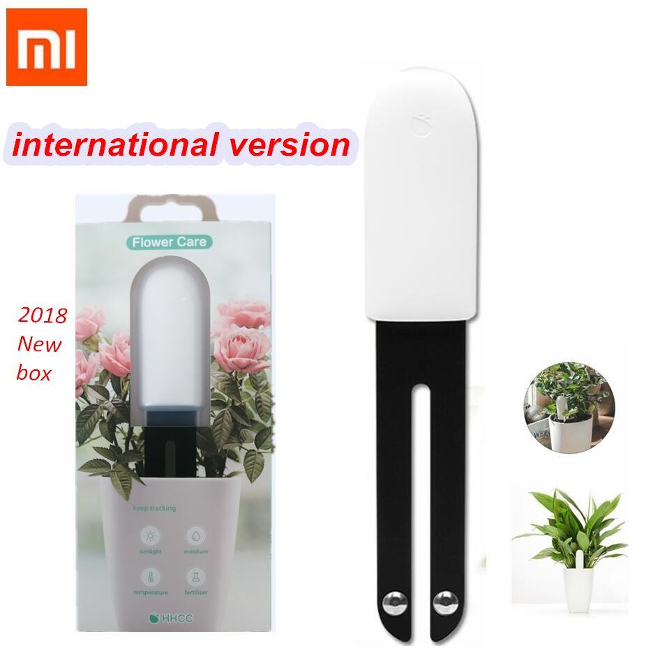 Xiao mi mi flore moniteur plantes numériques herbe fleur soin sol eau lumière testeur intelligent capteur Original Version internationale