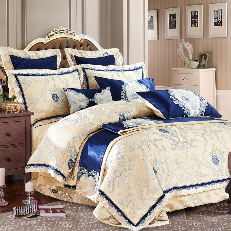 Heißer verkauf 100% baumwolle Luxus Bettwäsche Set Neue Designer Bettwäsche-sets Bettlaken Jacquard Bettwäsche Sets Duvet Abdeckung bettwäsche