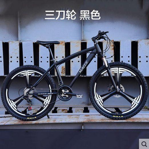 Nouveau x-front marque 21/24/27 vitesse 26*17 pouces en acier au carbone VTT sports de plein air descente bicicleta vtt frein à disque vélo