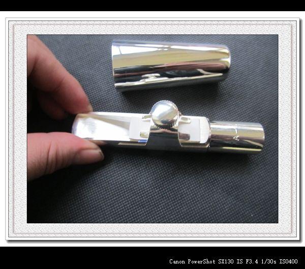 NEUE Metall tenorsaxophon mundstück Silber Plated-A-7 Modell