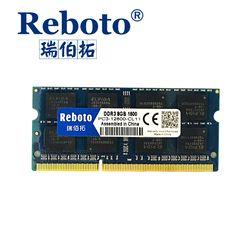 Reboto  DDR3 2GB 4GB 8GB 1066mhz  1333Mhz 1600mhz  Laptop RAM Memory /Lifetime warranty Free Shipping