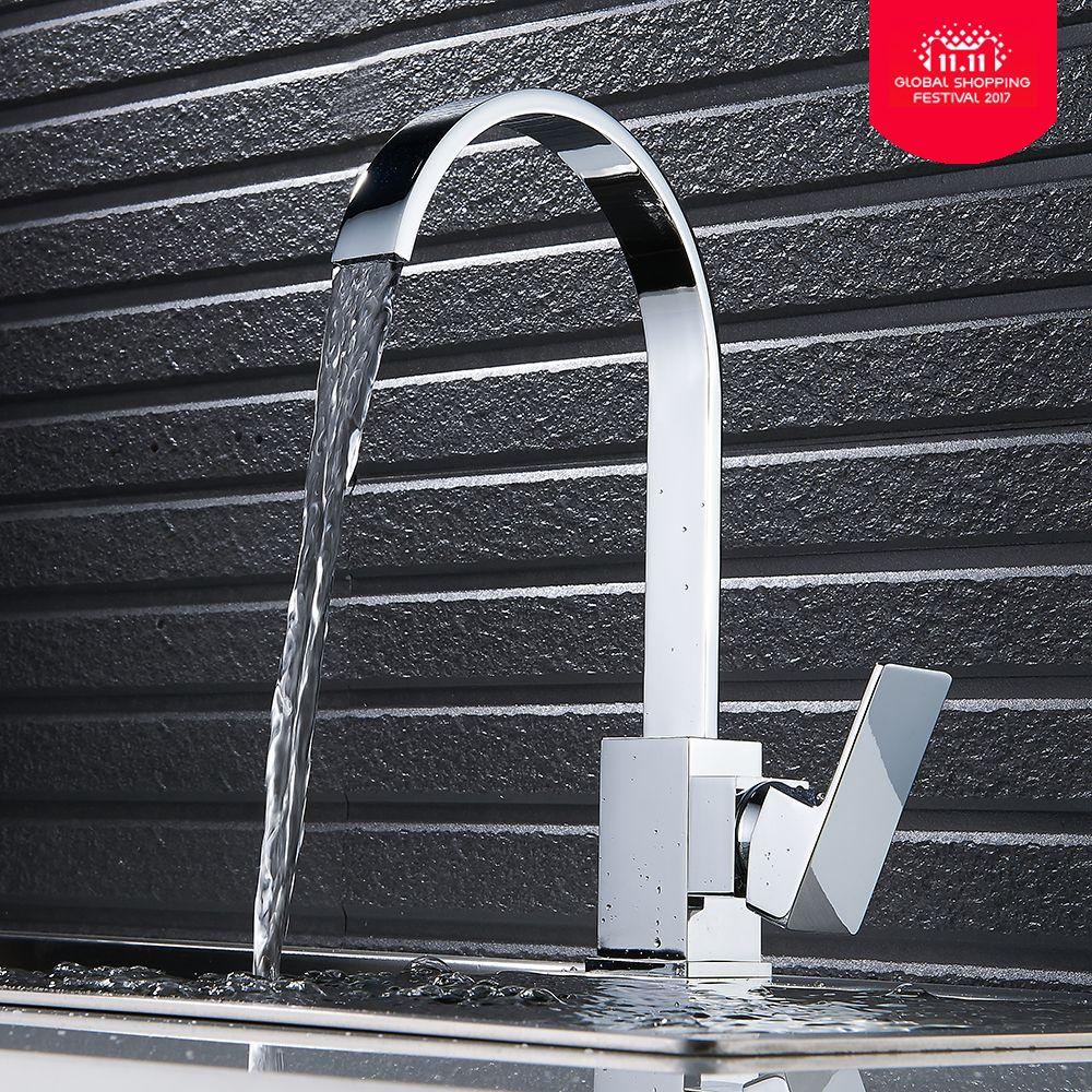 Torneira Cozinha robinet cascade robinet d'eau évier de cuisine robinet robinets de cuisine 360 robinet mitigeur de cuisine pivotant