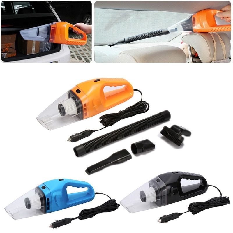 Do Promotion! New Car Vacuum 12V 120W Auto Vacuum Cleaner 6 in 1 Handheld Vacuums with 5m Power Cord