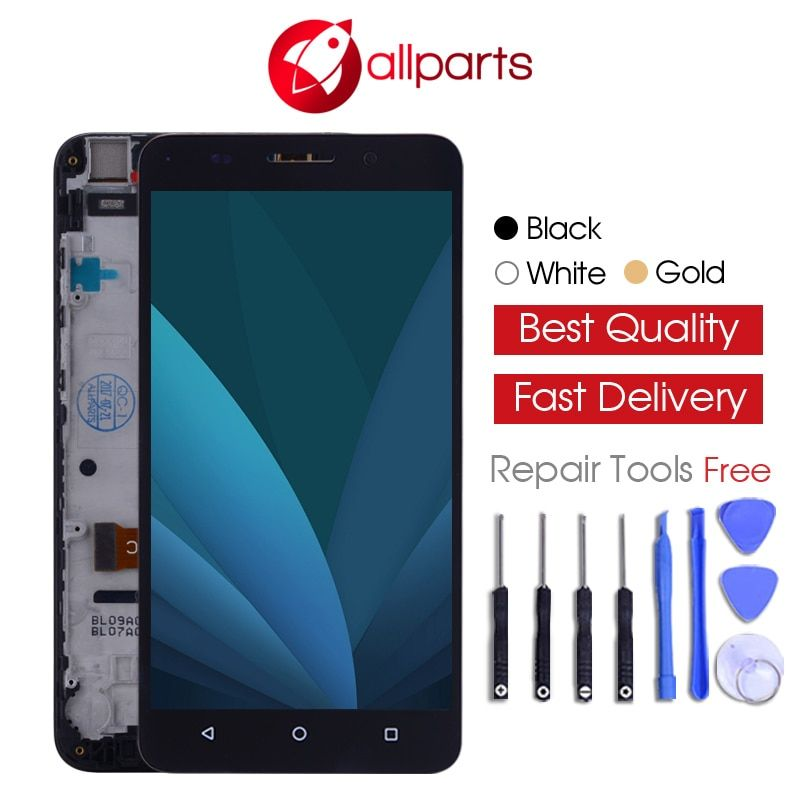 NO Dead Pixels 5.5 ALLPARTS IPS Display For HUAWEI Honor 4X LCD Touch Screen Digitizer Che2-L11 CHE2 UL00 Replacement