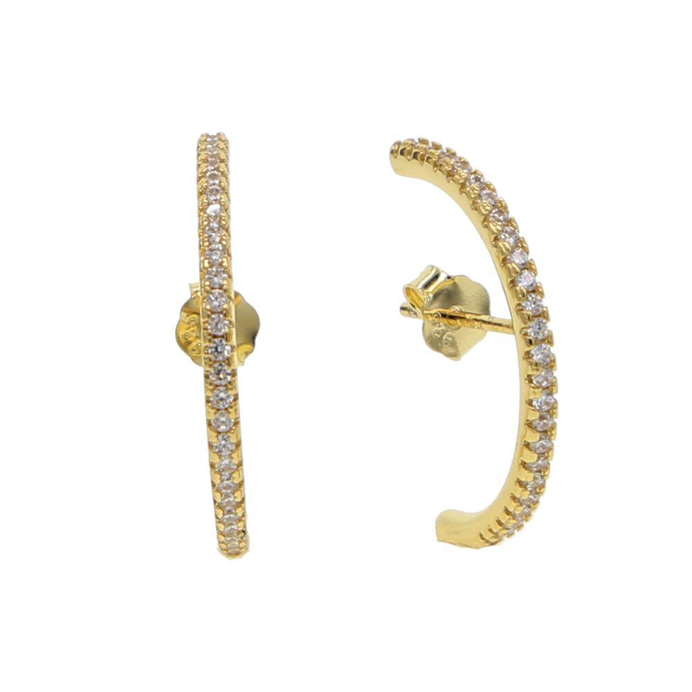 925 sterling argent or argent couleur oreille os oreille fil élégance à la mode pavé cz longue barre femmes boucles d'oreilles pour femmes