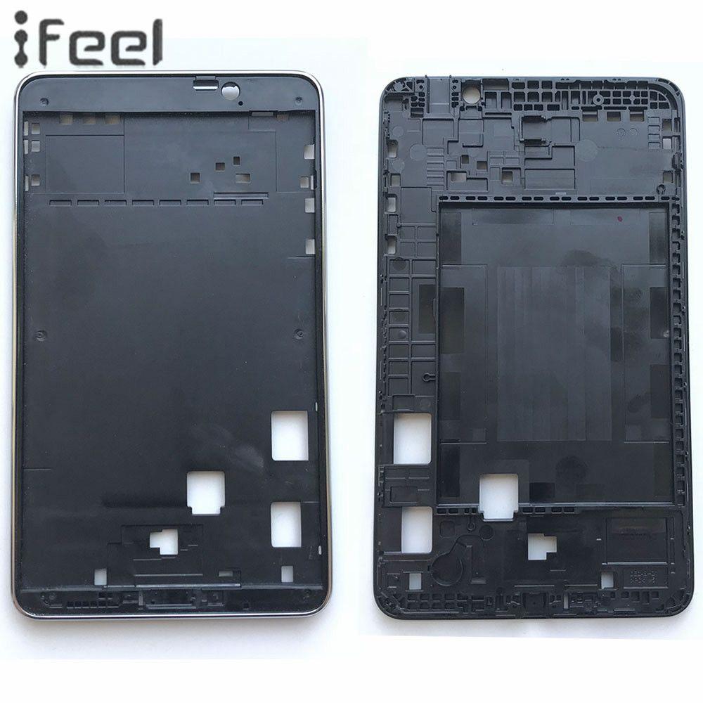 Neue LCD Vordere Halter A-Abdeckung Nahen Plate Frame Lünette Für Samsung Galaxy Tab 4 7,0 T230 T231 T237 schwarz