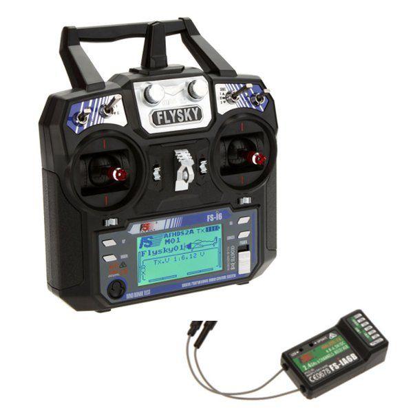FlySky FS-i6 2.4G 6CH AFHDS RC Transmitter With FS-iA6B FS A8S 8CH Receiver