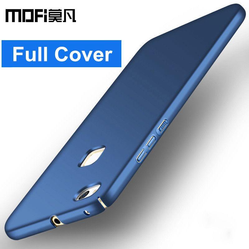 Huawei P10 lite cas d'origine p10lite couverture arrière dur PC plein de protection téléphone cas MOFi Huawei P10 Lite cas couverture 5.2