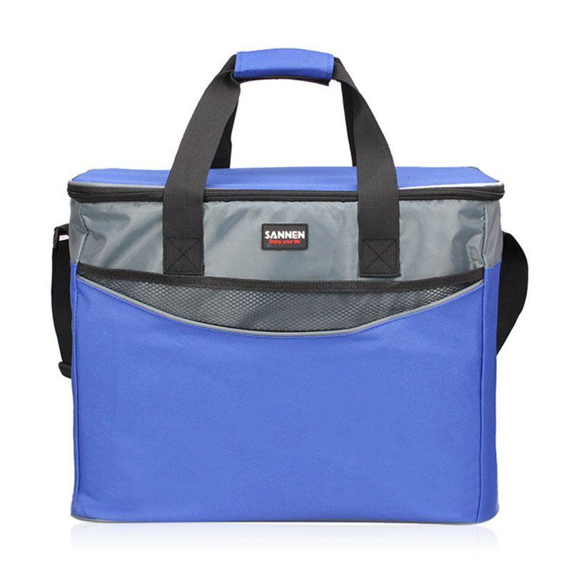 34l большой Оксфорд Термальность Изоляция Пакет для пикника Портативный контейнер сумки завод пакет Еда изолированные сумка охладитель сум...