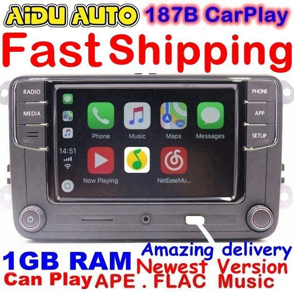 RCD330 Plus CarPlay Radio 1 GB RAM For VW Golf 5 6 Jetta MK5 MK6 CC Tiguan Passat Polo 6RD 035 187 B 6RD035187B RCD510 RCN210