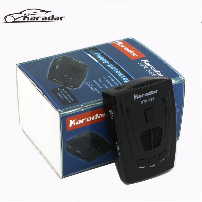 Best car-detector 2017 anti radar car detector <font><b>strelka</b></font> alarm system brand car radar detector str 535 for Russian