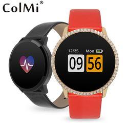 ColMi A1 Zircon Lovers Smart Bracelet IP67 Waterproof Heart Rate Monitor Activity Tracker Women men Brim Sport Smart Band