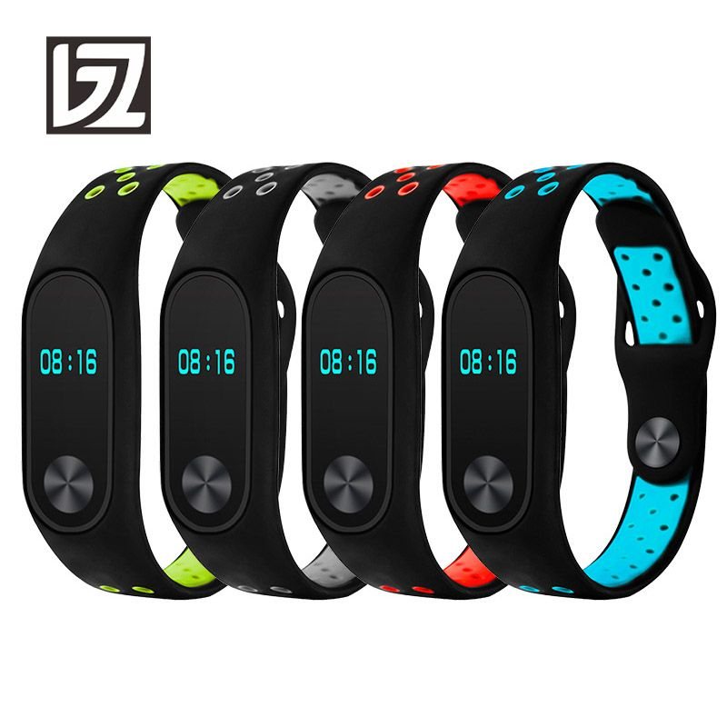 Silicone Straps for Xiaomi mi band 2 Strap miband 2 Strap Watch Band Washable Sport Watchbands Men Women Male Female Fitness