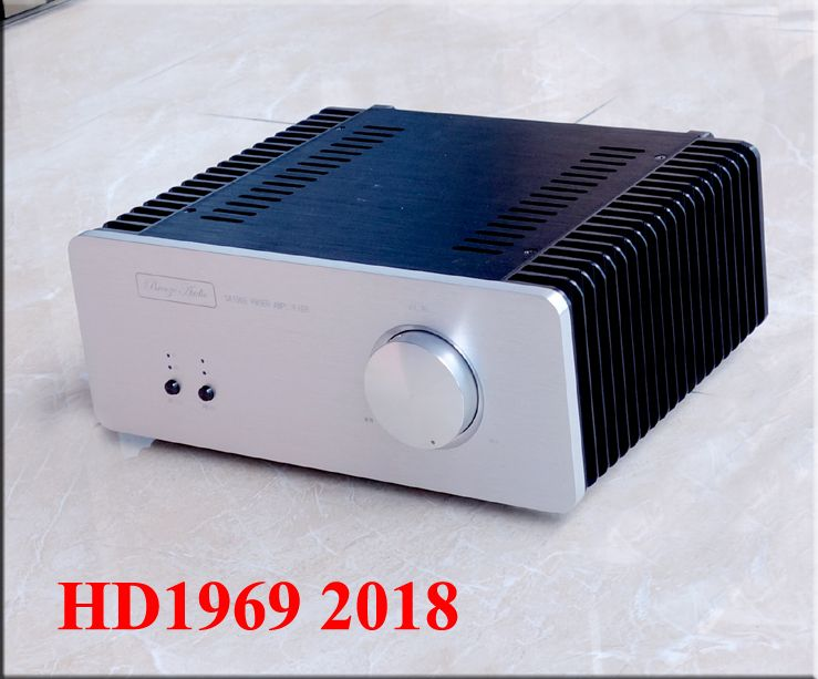 2018 Breeze Audio New Gold Sealed Edition Hood1969 HiFi 2.0 Class A Home Audio Amplifier 10W+10W