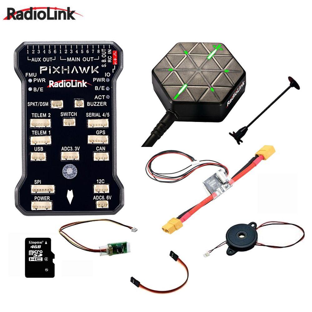 Original Radiolink PIXHAWK Flight Controller M8N GPS für AT9/AT10 Fernbedienung OSD DIY RC Multicopter Drone
