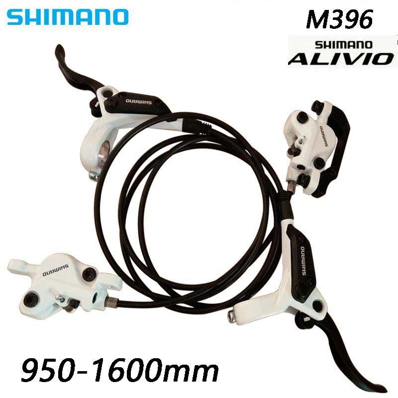 SHIMANO ALIVIO BR-M396 Berg Fahrrad Hydraulische Scheiben Bremse Set Vorne und Hinten Bremse Set Fahrrad Teile MTB Öl Disc Bremse set