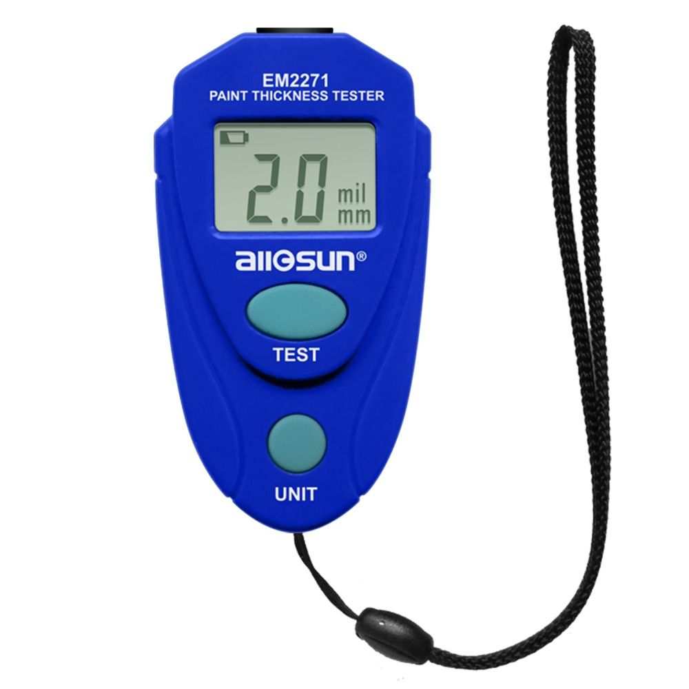 EM2271 Thickness Gauge Digital Coating Thickness Car Painting Meter paint thickness meter <font><b>Russian</b></font> manual ship from Russia