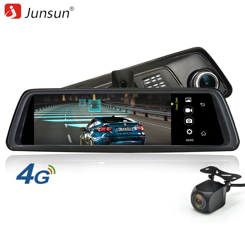 Junsun K759 автомобиля Камера DVR 4 г специальное зеркало 10