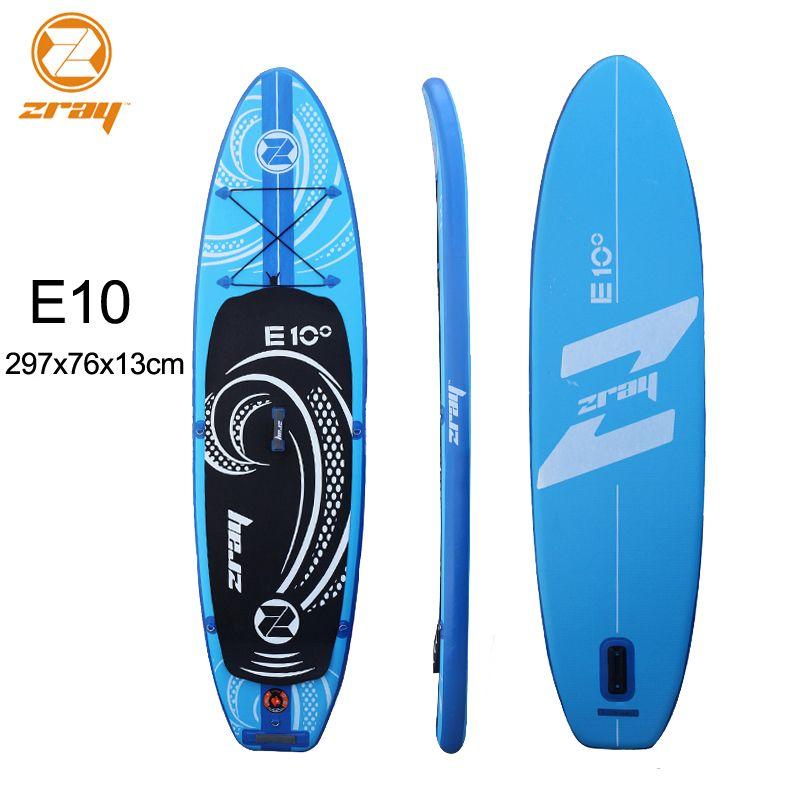 Surf board 297x76x13 cm JILONG Z RAY E10 aufblasbare sup bord stand up paddle board surf kajak sport aufblasbare boot bodyboard