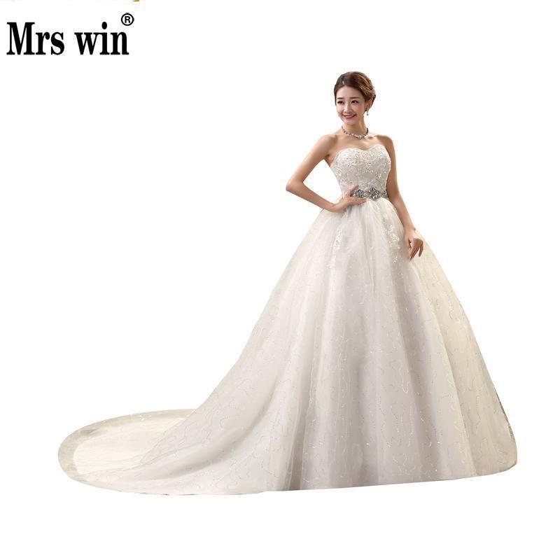 2016 New High Waist Maternity Wedding Dress For Pregnant Women Long Trailing Nuptial Dress Korean Style Brides Dresses