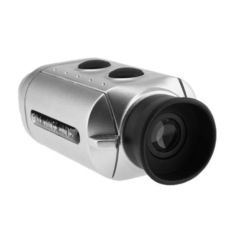 Numérique Laser Télémètre Télescope Poche Golf Range Finder pour La Chasse Golf Yards Portée Distance Mesure Outil