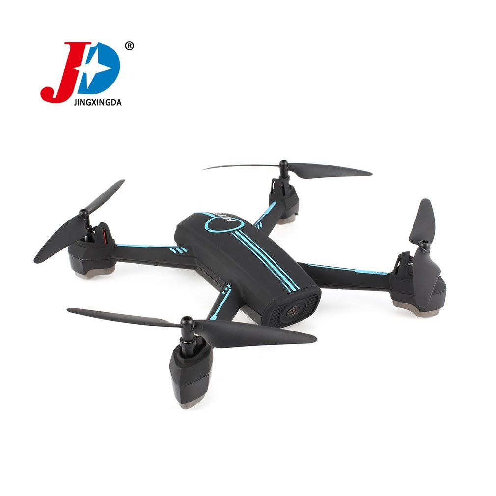 JXD 528 Upgraded Version GPS Drone WIFI FPV RC Quadrocopter with 720P HD Camera Quadcopter Real-Time Waypoint Flight Follow me