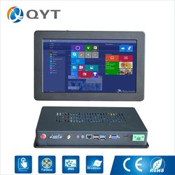 11.6'' Industrial touch PC intel j1900 2.0GHz support win7/8/10 2G DDR3 32G SSD embedded computers Resolution 1366x768