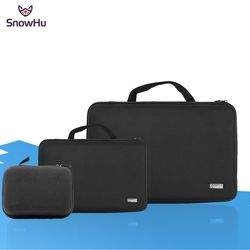 SnowHu Portable Storage Camera Bag For Gopro Case for Xiaomi Yi Action Camera For Go Pro Hero 5 4 3 for SJ4000 Accessories GP110