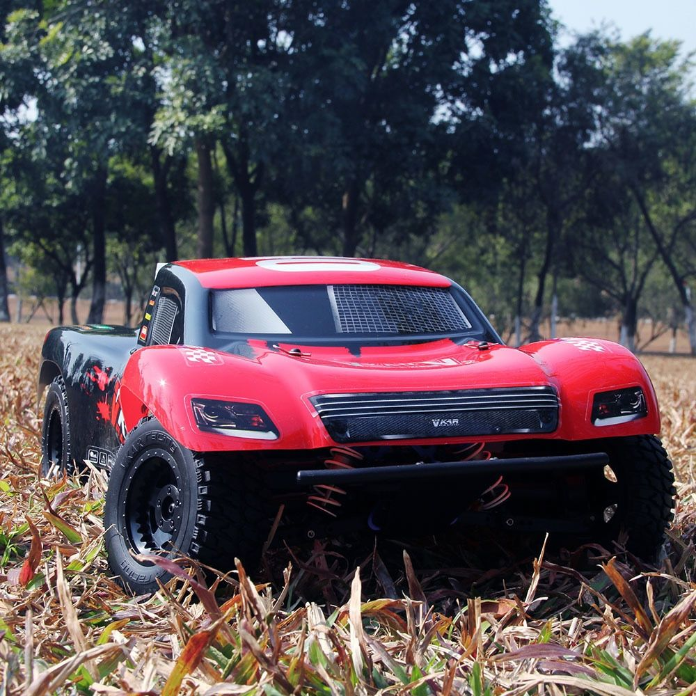Hot Sales Short-Course Truck Car SCTX10 V2 1:10 4WD RC Off-Road Super High Speed 80km/H 60A Brushless ESC Cars Long Driving Time