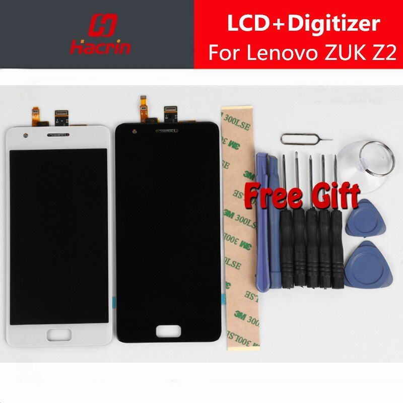 Lenovo ZUK Z2 LCD Display Touch Screen 100% New FHD 5.0 Digitizer Assembly Replacement Accessory For Lenovo ZUK Z2