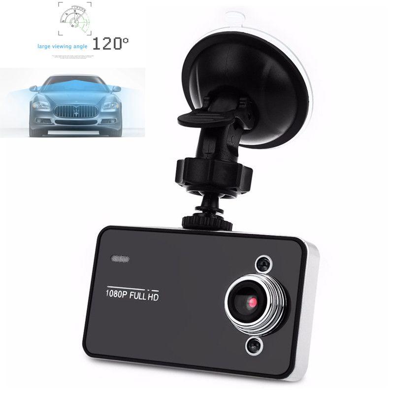 FHD 108P voiture DVR noir tableau de bord Vision nocturne caméra enregistreur vidéo boucle enregistrement Mini caméra de tableau de bord DVRs