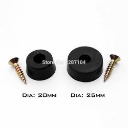 12x черный Duable мягкая резиновая мебель для ножек стола или стула нога Нижняя Нескользящая скользит шок пол протектор не шум винт на Pad