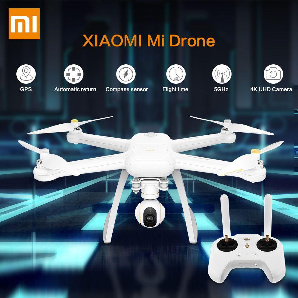 Original XIAOMI Mi Drohne HD 4 karat WIFI FPV 5 ghz Quadcopter 6 Achsen Gyro Gimbal WiFi APP Control Hubschrauber HD Video Nehmen Fern